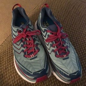 Hoka one one neutral running shoe sz 9.5